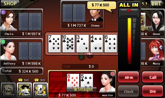 ♠Bullet Poker: 7 Poker & Hold'em♠ 스크린샷 대공개!!! : 스마트게임샷 ♠Bullet Poker: 7 Poker & Hold'em♠ 스크린샷 대공개!!! ♠Bullet Poker: 7 Poker & Hold'em♠ 스크린샷 대공개!!! - 스마트 게임샷 최신뉴스 - 웹